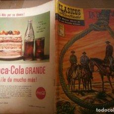 Tebeos: CLASICOS ILUSTRADOS # 113 LA HORCA VAN TILBURG ED. LA PRENSA MEXICO 1961. Lote 287958168