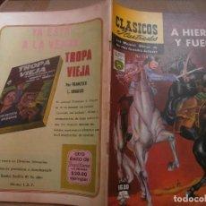 Tebeos: CLASICOS ILUSTRADOS # 114 A HIERRO Y FUEGO HENRYK SIENKIEWICZ ED. LA PRENSA MEXICO 1974. Lote 287958343