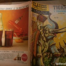 Tebeos: CLASICOS ILUSTRADOS # 122 TIGRES Y TRAIDORES JULIO VERNE ED. LA PRENSA MEXICO 1962. Lote 287958818