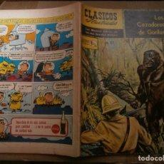 Tebeos: CLASICOS ILUSTRADOS # 127 LOS CAZADORES DE GORILAS BALLANTYNEED. LA PRENSA MEXICO 1964. Lote 287959033