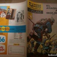 Tebeos: CLASICOS ILUSTRADOS # 135 EL ATAQUE AL MOLINO ED. LA PRENSA MEXICO 1965. Lote 287959438