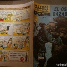 Tebeos: CLASICOS ILUSTRADOS # 136 EL OSO CAZADO ED. LA PRENSA MEXICO 1965. Lote 287959528