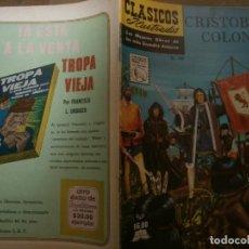 Tebeos: CLASICOS ILUSTRADOS # 148 CRISTOBAL COLON ED. LA PRENSA MEXICO 1968. Lote 287959803