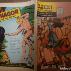 Tebeos: CLASICOS ILUSTRADOS # 157 ITZCOATL REY AZTECA ED. LA PRENSA MEXICO 1970. Lote 287959948