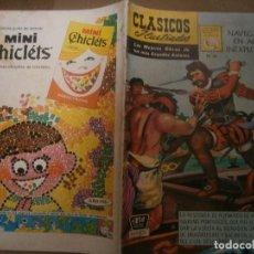 Tebeos: CLASICOS ILUSTRADOS # 161 FERNANDO MAGALLANES NAVEGANDO EN AGUAS INEXPLORADAS ED. LA PRENSA MEXICO. Lote 287960198