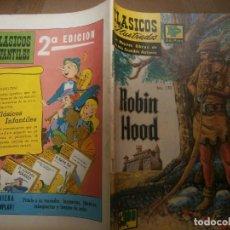 Tebeos: CLASICOS ILUSTRADOS # 170 ROBIN HOOD 64 PAGS. ED. LA PRENSA MEXICO 1972. Lote 287960508