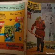 Tebeos: CLASICOS ILUSTRADOS # 181 LOS MISERABLES VICTOR HUGO ED. LA PRENSA MEXICO 1974. Lote 287960768