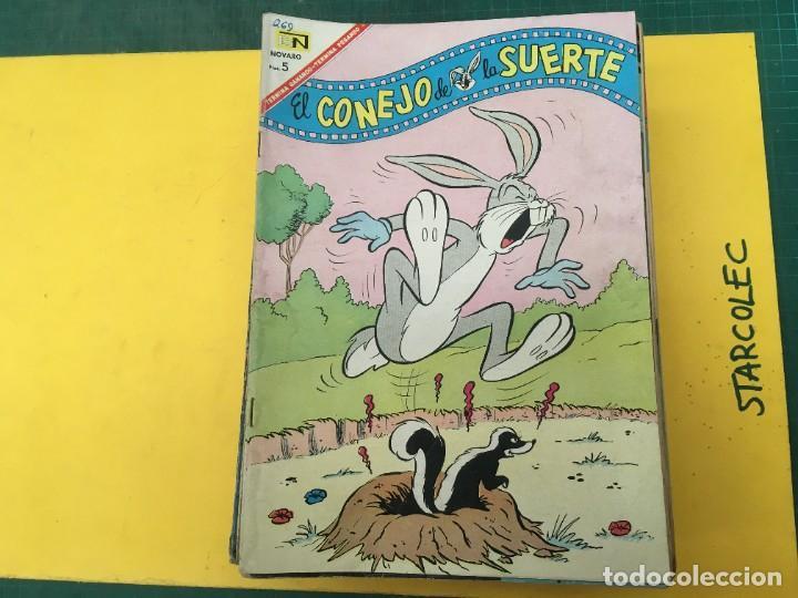 Tebeos: EL CONEJO DE LA SUERTE NOVARO, 42 NUMEROS (VER DESCRIPCION) EDITORIAL NOVARO AÑO 1957-1974 - Foto 2 - 287986738