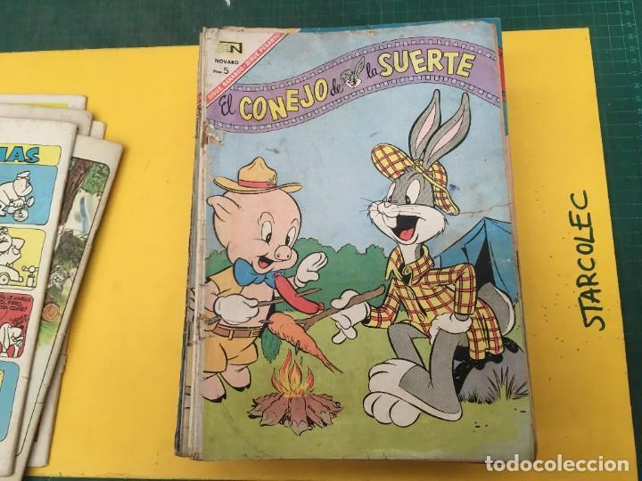 Tebeos: EL CONEJO DE LA SUERTE NOVARO, 42 NUMEROS (VER DESCRIPCION) EDITORIAL NOVARO AÑO 1957-1974 - Foto 7 - 287986738