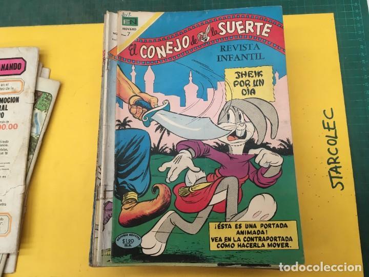 Tebeos: EL CONEJO DE LA SUERTE NOVARO, 42 NUMEROS (VER DESCRIPCION) EDITORIAL NOVARO AÑO 1957-1974 - Foto 8 - 287986738