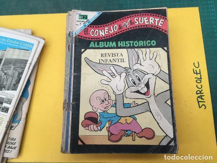 Tebeos: EL CONEJO DE LA SUERTE NOVARO, 42 NUMEROS (VER DESCRIPCION) EDITORIAL NOVARO AÑO 1957-1974 - Foto 13 - 287986738