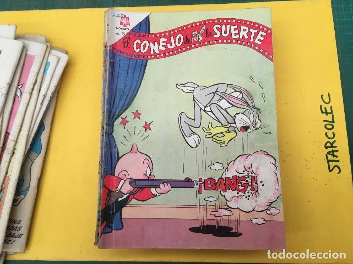 Tebeos: EL CONEJO DE LA SUERTE NOVARO, 42 NUMEROS (VER DESCRIPCION) EDITORIAL NOVARO AÑO 1957-1974 - Foto 18 - 287986738
