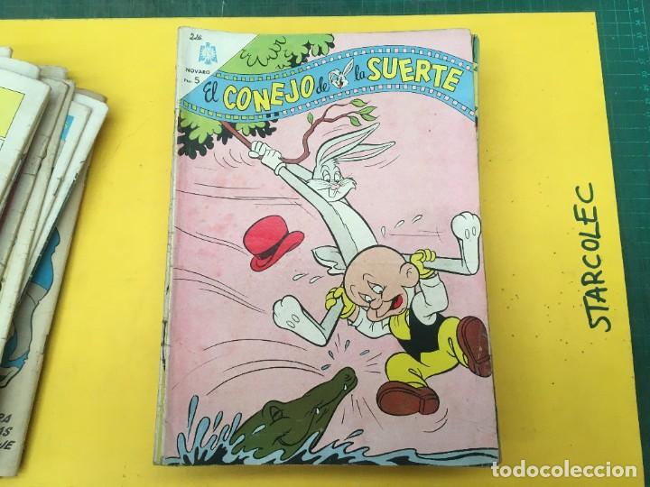 Tebeos: EL CONEJO DE LA SUERTE NOVARO, 42 NUMEROS (VER DESCRIPCION) EDITORIAL NOVARO AÑO 1957-1974 - Foto 22 - 287986738