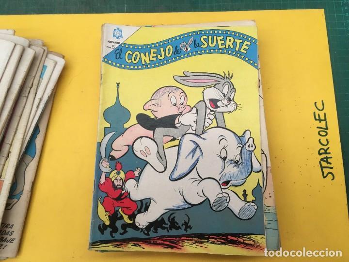 Tebeos: EL CONEJO DE LA SUERTE NOVARO, 42 NUMEROS (VER DESCRIPCION) EDITORIAL NOVARO AÑO 1957-1974 - Foto 25 - 287986738