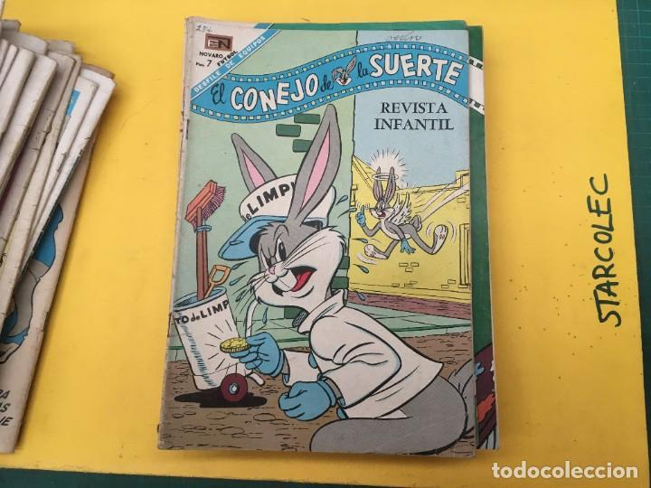 Tebeos: EL CONEJO DE LA SUERTE NOVARO, 42 NUMEROS (VER DESCRIPCION) EDITORIAL NOVARO AÑO 1957-1974 - Foto 29 - 287986738