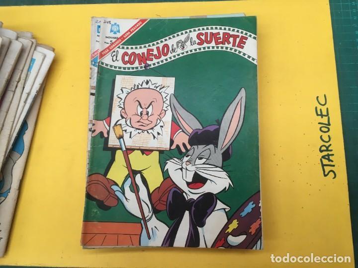 Tebeos: EL CONEJO DE LA SUERTE NOVARO, 42 NUMEROS (VER DESCRIPCION) EDITORIAL NOVARO AÑO 1957-1974 - Foto 31 - 287986738