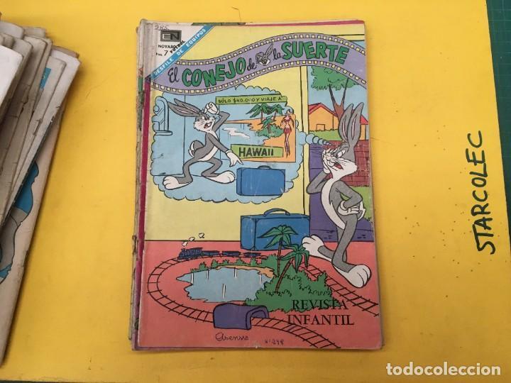 Tebeos: EL CONEJO DE LA SUERTE NOVARO, 42 NUMEROS (VER DESCRIPCION) EDITORIAL NOVARO AÑO 1957-1974 - Foto 39 - 287986738
