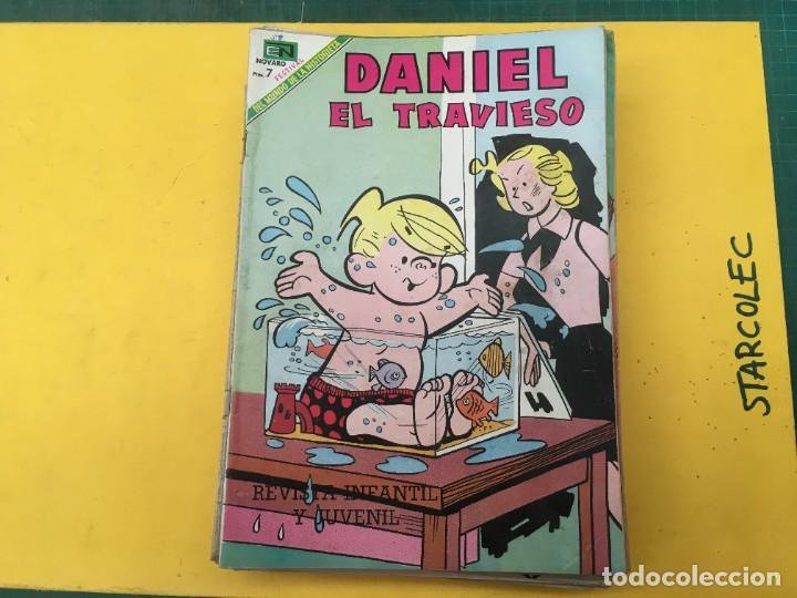 Tebeos: DANIEL EL TRAVIESO NOVARO, 21 NUMEROS (VER DESCRIPCION) EDITORIAL NOVARO AÑO 1965-1974 - Foto 2 - 287999243