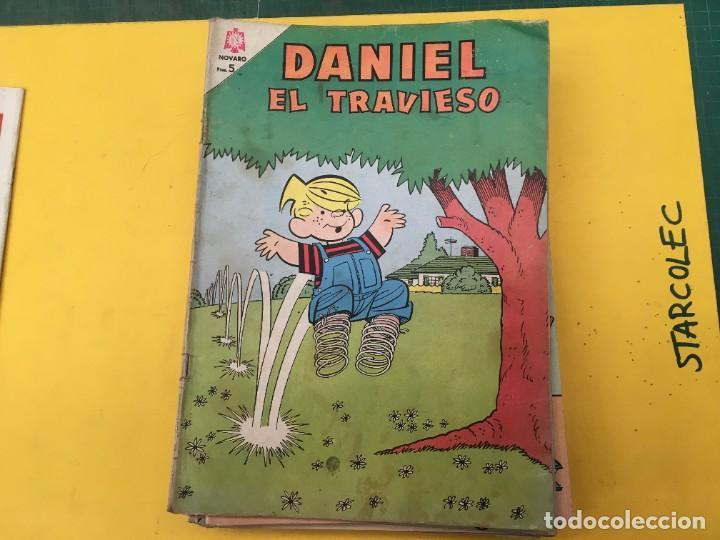 Tebeos: DANIEL EL TRAVIESO NOVARO, 21 NUMEROS (VER DESCRIPCION) EDITORIAL NOVARO AÑO 1965-1974 - Foto 3 - 287999243