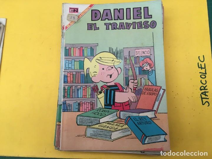Tebeos: DANIEL EL TRAVIESO NOVARO, 21 NUMEROS (VER DESCRIPCION) EDITORIAL NOVARO AÑO 1965-1974 - Foto 6 - 287999243