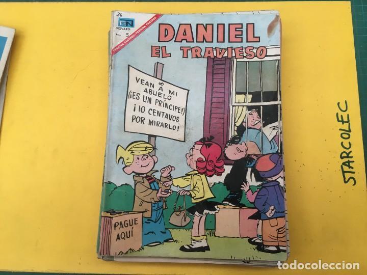 Tebeos: DANIEL EL TRAVIESO NOVARO, 21 NUMEROS (VER DESCRIPCION) EDITORIAL NOVARO AÑO 1965-1974 - Foto 7 - 287999243