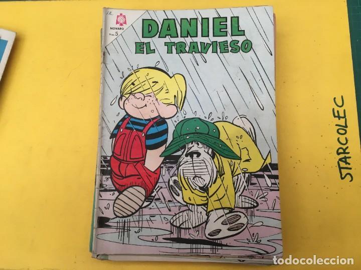 Tebeos: DANIEL EL TRAVIESO NOVARO, 21 NUMEROS (VER DESCRIPCION) EDITORIAL NOVARO AÑO 1965-1974 - Foto 8 - 287999243
