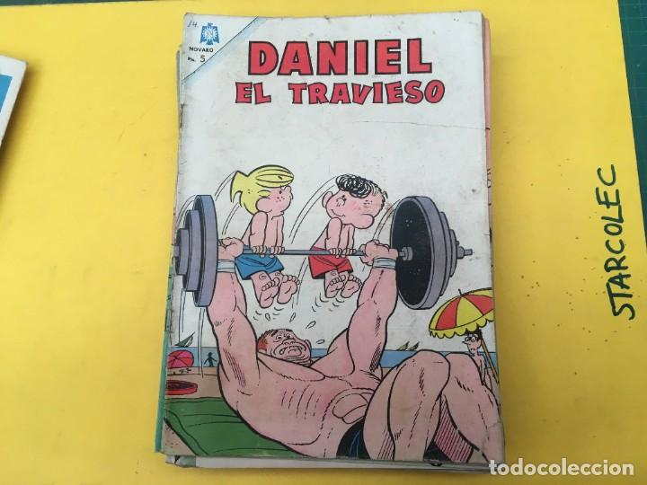 Tebeos: DANIEL EL TRAVIESO NOVARO, 21 NUMEROS (VER DESCRIPCION) EDITORIAL NOVARO AÑO 1965-1974 - Foto 9 - 287999243