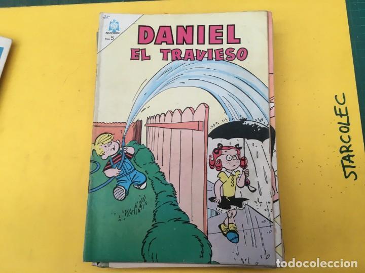 Tebeos: DANIEL EL TRAVIESO NOVARO, 21 NUMEROS (VER DESCRIPCION) EDITORIAL NOVARO AÑO 1965-1974 - Foto 10 - 287999243