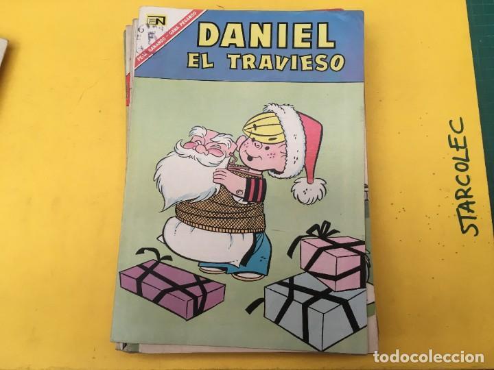 Tebeos: DANIEL EL TRAVIESO NOVARO, 21 NUMEROS (VER DESCRIPCION) EDITORIAL NOVARO AÑO 1965-1974 - Foto 12 - 287999243