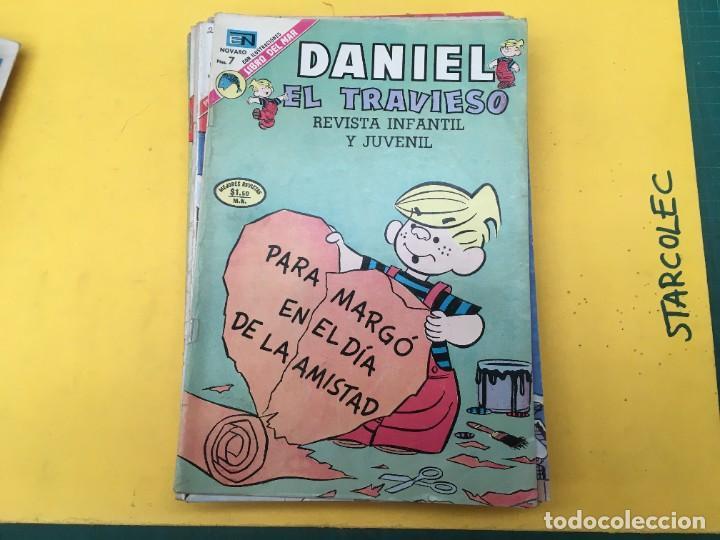 Tebeos: DANIEL EL TRAVIESO NOVARO, 21 NUMEROS (VER DESCRIPCION) EDITORIAL NOVARO AÑO 1965-1974 - Foto 14 - 287999243