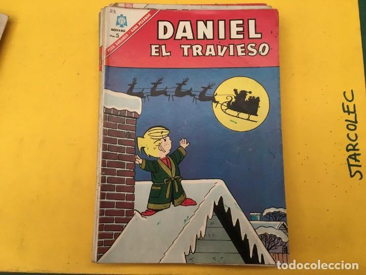 Tebeos: DANIEL EL TRAVIESO NOVARO, 21 NUMEROS (VER DESCRIPCION) EDITORIAL NOVARO AÑO 1965-1974 - Foto 15 - 287999243