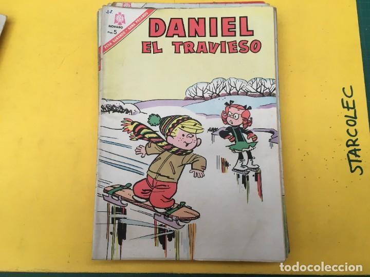 Tebeos: DANIEL EL TRAVIESO NOVARO, 21 NUMEROS (VER DESCRIPCION) EDITORIAL NOVARO AÑO 1965-1974 - Foto 16 - 287999243