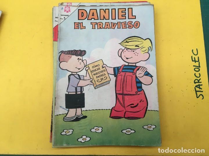 Tebeos: DANIEL EL TRAVIESO NOVARO, 21 NUMEROS (VER DESCRIPCION) EDITORIAL NOVARO AÑO 1965-1974 - Foto 17 - 287999243