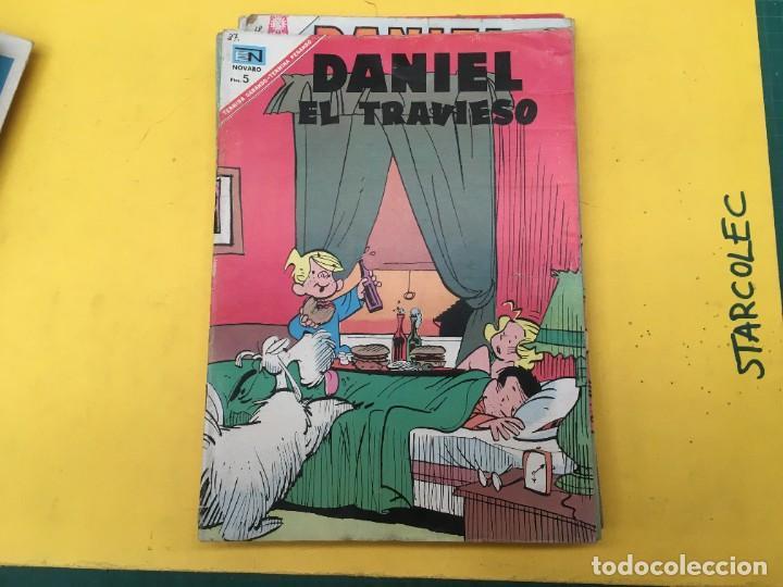 Tebeos: DANIEL EL TRAVIESO NOVARO, 21 NUMEROS (VER DESCRIPCION) EDITORIAL NOVARO AÑO 1965-1974 - Foto 19 - 287999243