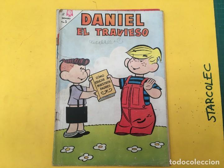 Tebeos: DANIEL EL TRAVIESO NOVARO, 21 NUMEROS (VER DESCRIPCION) EDITORIAL NOVARO AÑO 1965-1974 - Foto 21 - 287999243