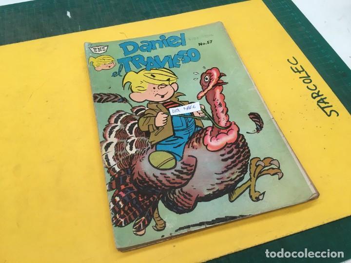 DANIEL EL TRAVIESO ENS, 5 NUMEROS (VER DESCRIPCION) EDITORIAL ENS AÑO 1961-1962 (Tebeos y Comics - Novaro - Otros)