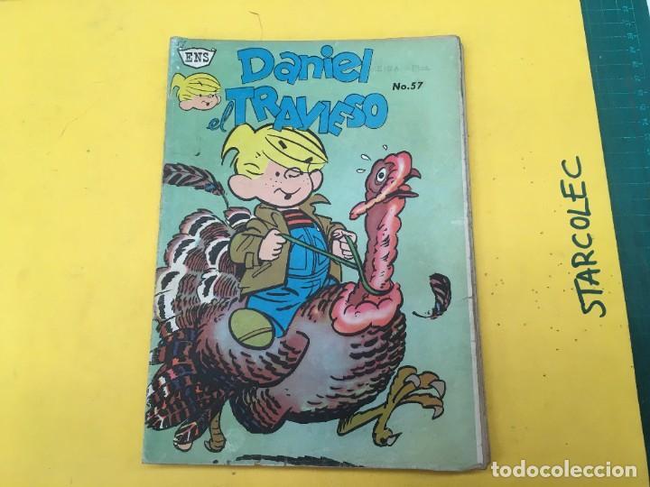 Tebeos: DANIEL EL TRAVIESO ENS, 5 NUMEROS (VER DESCRIPCION) EDITORIAL ENS AÑO 1961-1962 - Foto 2 - 288000133
