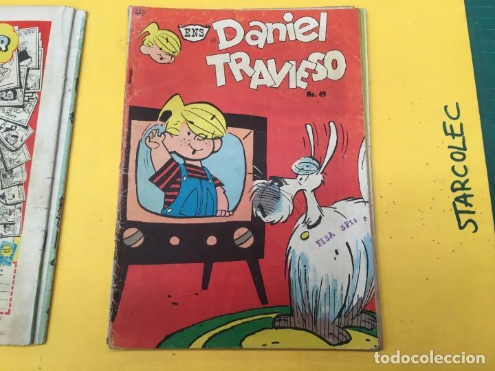 Tebeos: DANIEL EL TRAVIESO ENS, 5 NUMEROS (VER DESCRIPCION) EDITORIAL ENS AÑO 1961-1962 - Foto 4 - 288000133