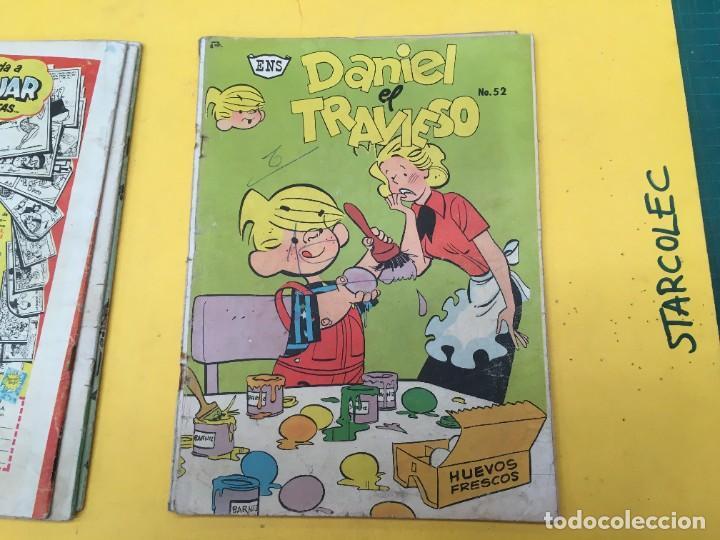 Tebeos: DANIEL EL TRAVIESO ENS, 5 NUMEROS (VER DESCRIPCION) EDITORIAL ENS AÑO 1961-1962 - Foto 5 - 288000133