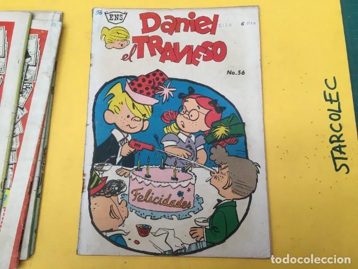 Tebeos: DANIEL EL TRAVIESO ENS, 5 NUMEROS (VER DESCRIPCION) EDITORIAL ENS AÑO 1961-1962 - Foto 7 - 288000133