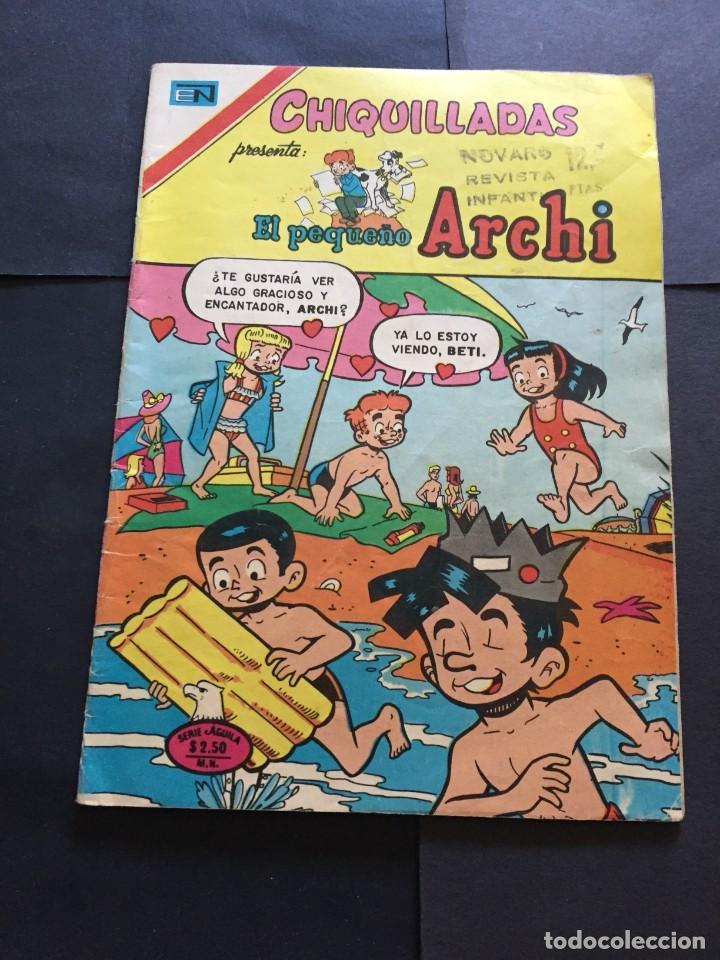 COMIC CHIQUILLADAS SERIE AGUILA , N° 474 EL DE LAS FOTOS VER TODOS MIS COMICS Y TEBEOS (Tebeos y Comics - Novaro - Otros)