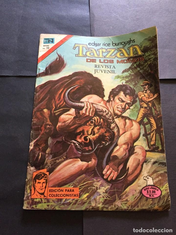 COMIC TARZAN SERIE AGUILA , N° 455 EL DE LAS FOTOS VER TODOS MIS COMICS Y TEBEOS (Tebeos y Comics - Novaro - Tarzán)