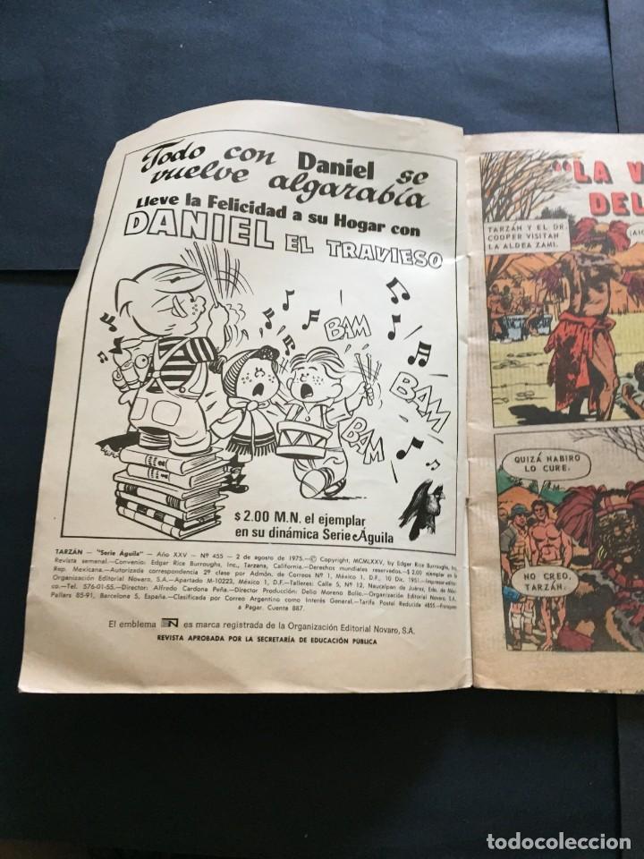 Tebeos: COMIC TARZAN SERIE AGUILA , N° 455 EL DE LAS FOTOS VER TODOS MIS COMICS Y TEBEOS - Foto 2 - 288017913