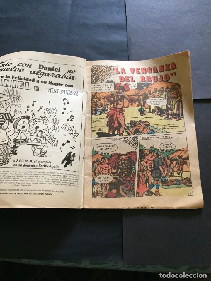 Tebeos: COMIC TARZAN SERIE AGUILA , N° 455 EL DE LAS FOTOS VER TODOS MIS COMICS Y TEBEOS - Foto 3 - 288017913