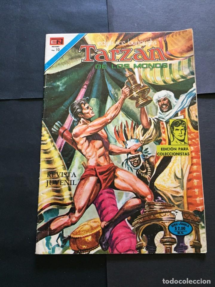 COMIC TARZAN SERIE AGUILA , N° 463 EL DE LAS FOTOS VER TODOS MIS COMICS Y TEBEOS (Tebeos y Comics - Novaro - Tarzán)