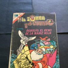 Tebeos: COMIC LA ZORRA Y EL CUERVO SERIE AGUILA , N° 365 EL DE LAS FOTOS VER TODOS MIS COMICS Y TEBEOS. Lote 288018988