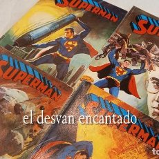 Tebeos: SUPERMAN. LIBRO COMIC NOVARO. LOTE 4 COMICS NºS 29-30-31-34. Lote 288058388