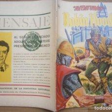 Tebeos: AVENTURAS # 325 ROBIN HOOD EDITORIAL LA PRENSA MEXICO 1964. Lote 288069698