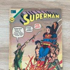 Tebeos: SUPERMAN Nº 881. NOVARO 1972. Lote 288361123