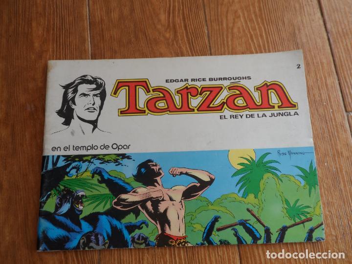 TARZAN EL REY DE LA JUNGLA Nº 2 EDITORIAL NOVARO (Tebeos y Comics - Novaro - Tarzán)